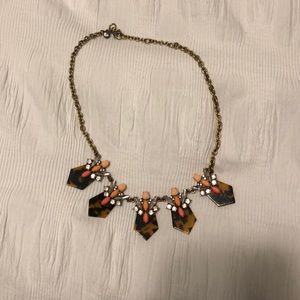 Jcrew Tortoise necklace